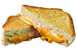 Grilled 3 Cheese $ 1.39