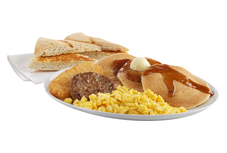 Combo Big Breakfast Deluxe $6.34