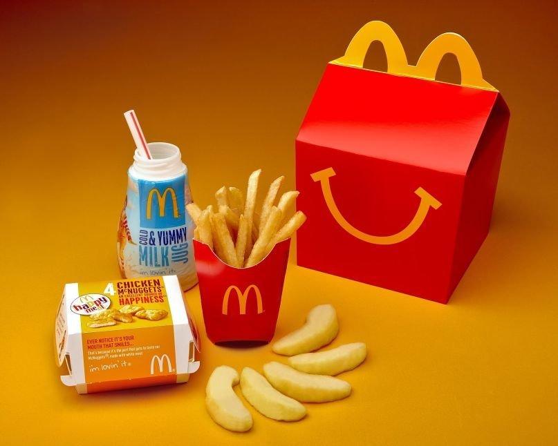 Happy Meal de Mc Donalds