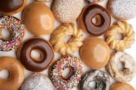 Donas en Cajas de 6 o 12 Krispy Kreme