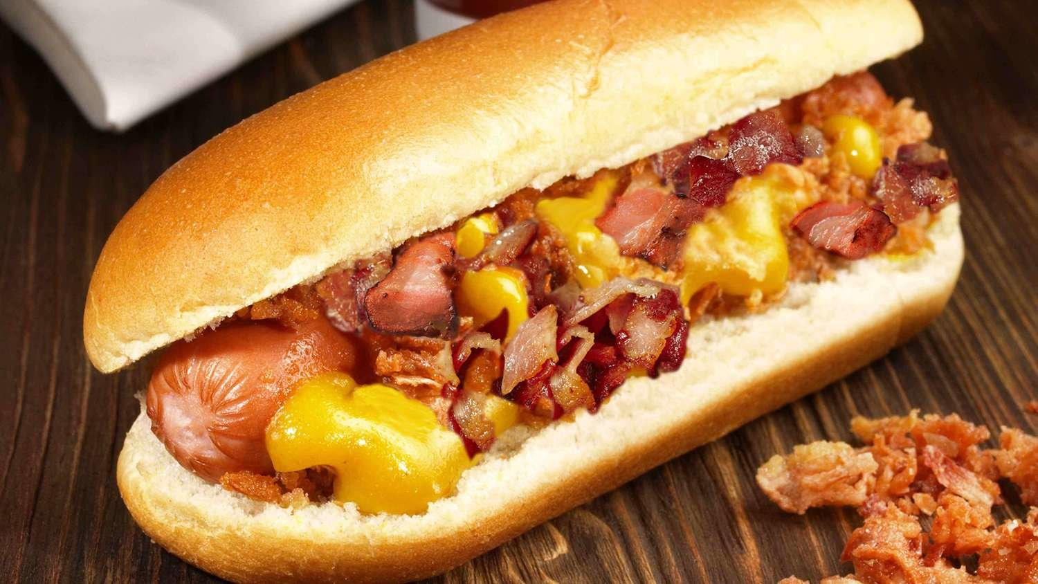 Bacon & Cheese Dog