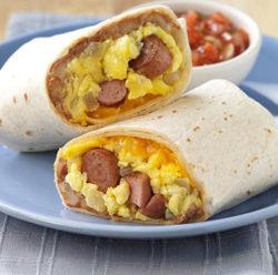 2 Burritos de Huevos de Wendy's