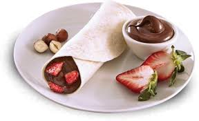 Wrap Con Nutella