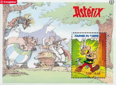 Timbre : 1999 JOURNÉE DU TIMBRE Astérix