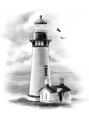 Pigeon Point Lighthouse in Pescadero California