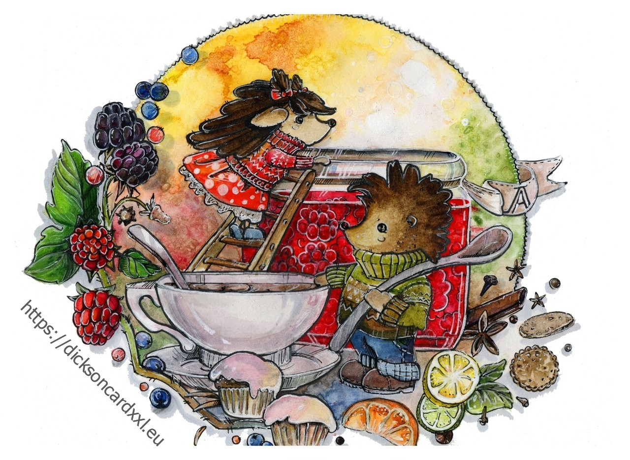 Hedgehogs - the day of cooking​