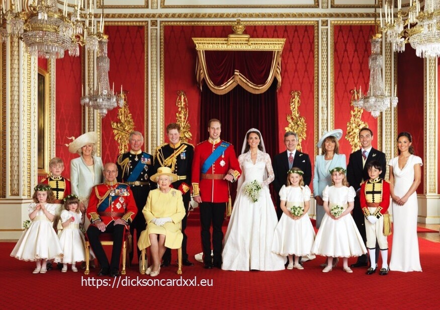 NEW. Family photo from  Prince William's  wedding 💕