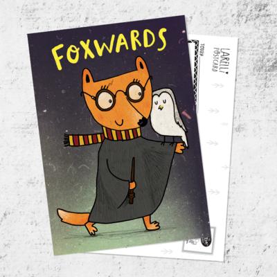 Foxwards postcard