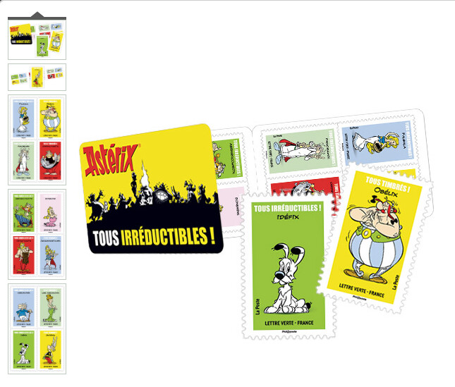 NEW. Carnet - Asterix Tous irreductibles