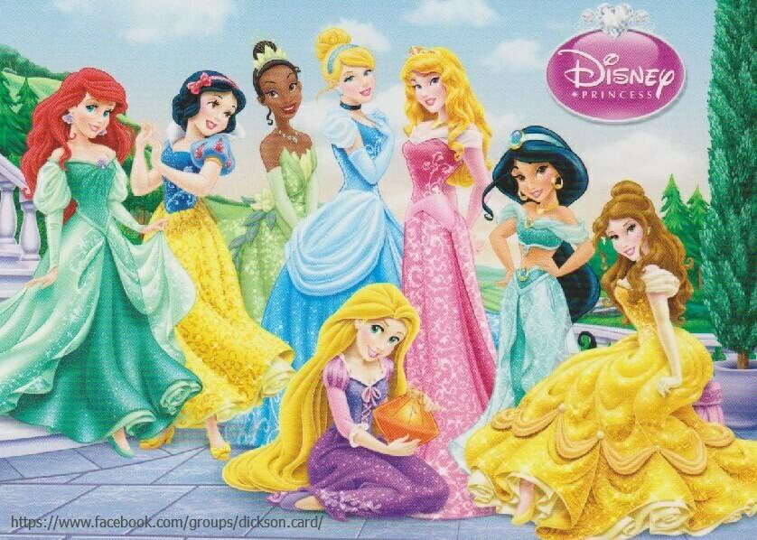 8 Disney princesses