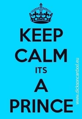 NEW. Keep Calm its A Prince