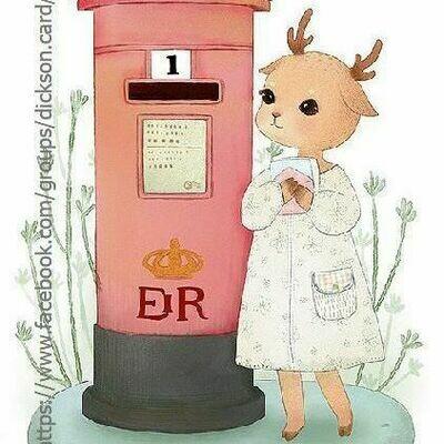 Deer 🦌 sends a letter . Олениха отправляет письмо 📬