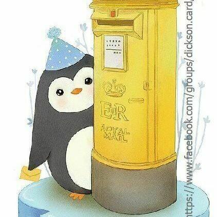 Les boîtes à lettres Пингвин🐧 отправляет письмо 📬