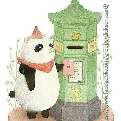 Panda🐼 sends an email 📬. Панда отправляет письмо