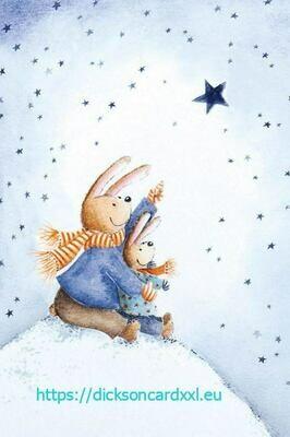 Two rabbits Два кролика