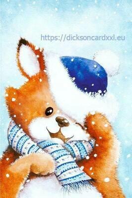 Fox in the hat Лис в шапке