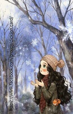 The Diary Of A Forest Girl Девочка с белкой в лесу
