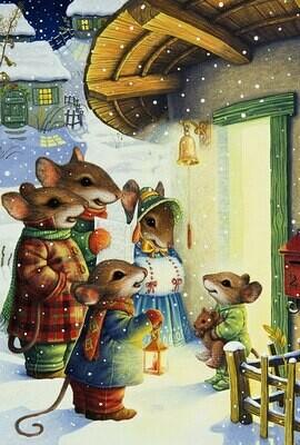 NEW. Mouse, Christmas carols  Susan Wheeler