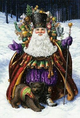 New. Santa Claus Circus