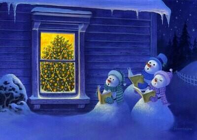 NEW. Snowmen sing