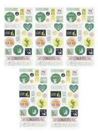 1 sticker sheet green