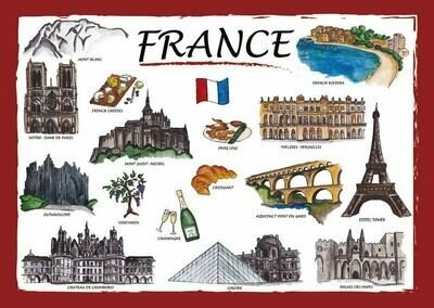 Countries of the World - France ( original )