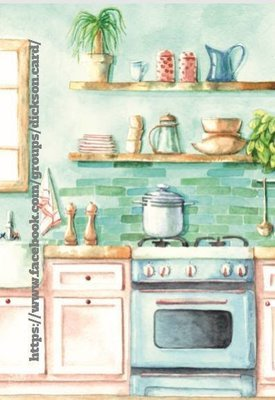 Kitchen by © Nataliia Pavliuk.