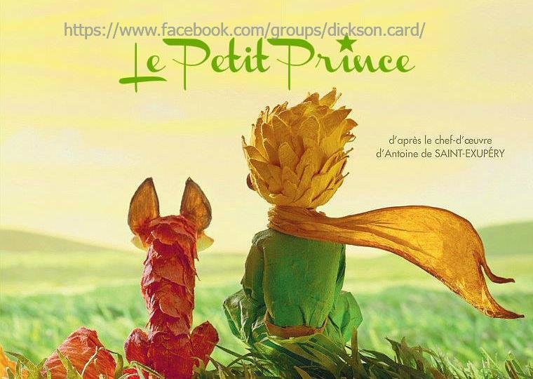 Llittle Prince with the fox sit backwards.
