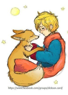 Little Prince and Fox - Hugs .