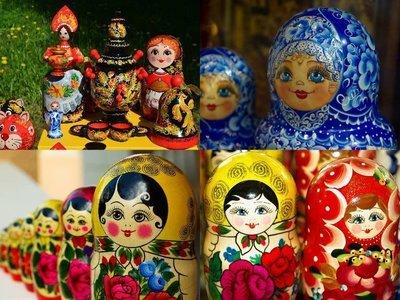 Matryoshka, collage