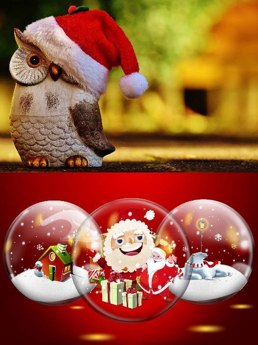 Christmas collage​
