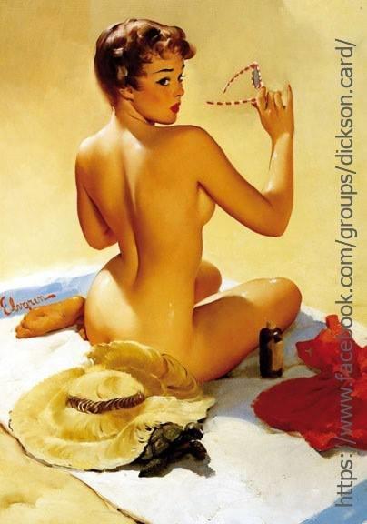 Pin-up - naked lady