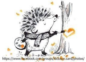 Hedgehog artist