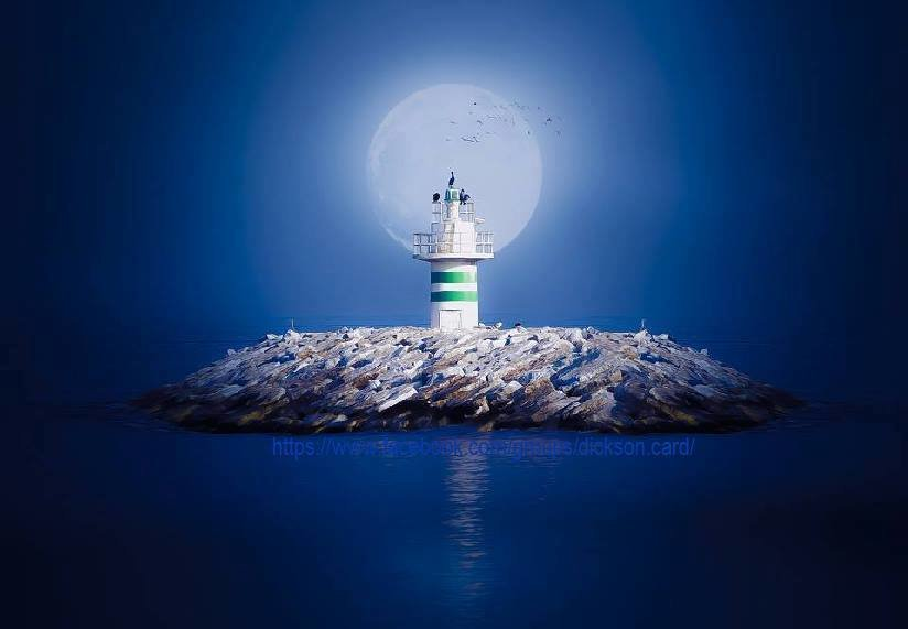 LIGHTHOUSE with a green border
