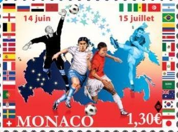 MONACO. WORLD CHAMPIONSHIP IN FOOTBALL IN RUSSIA