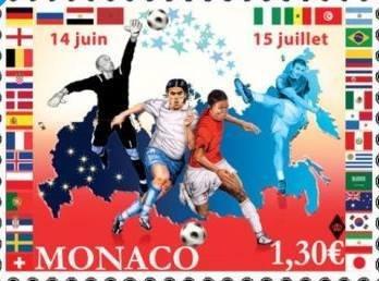 MONACO. WORLD CHAMPIONSHIP IN FOOTBALL IN RUSSIA