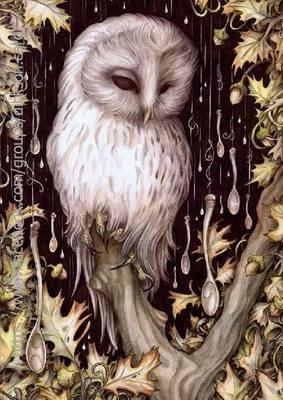 Owl - mural