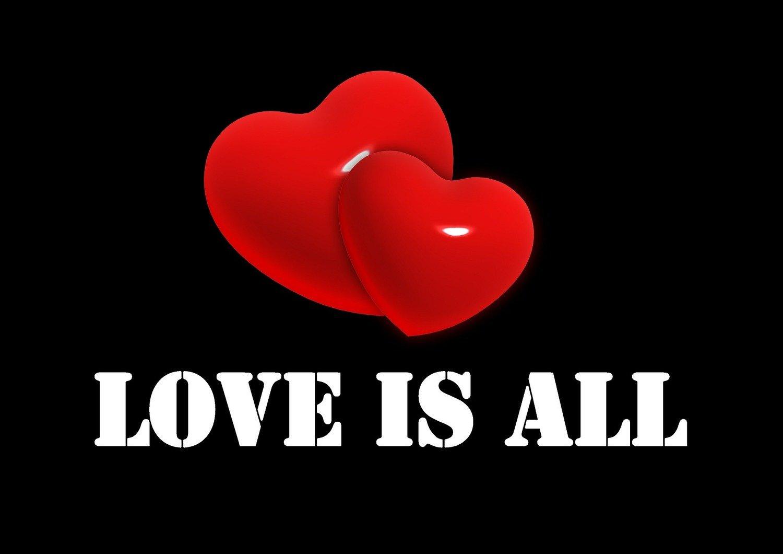 "Saint Valentine ""Love is all"""