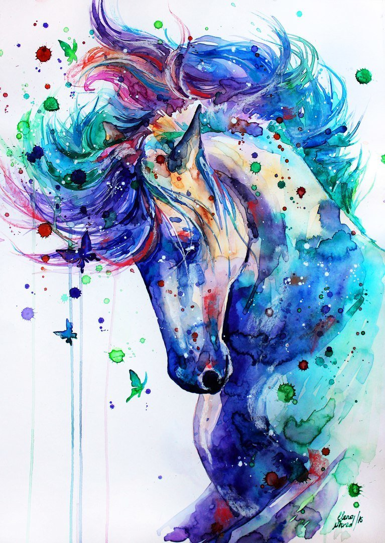 Horse  by © Elena Shved