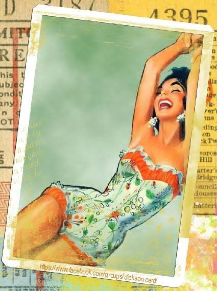 ​Vintage retro collage art