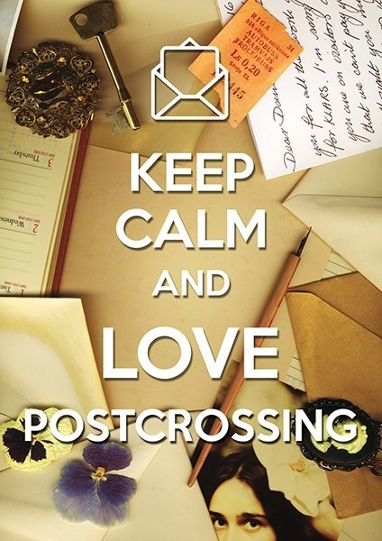 Keep Calm and Love Postcrossing
