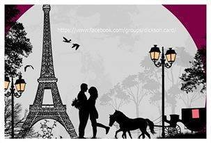 Paris. Romantic date in Paris