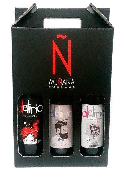Pack 3 Botellas Delirio A ELEGIR