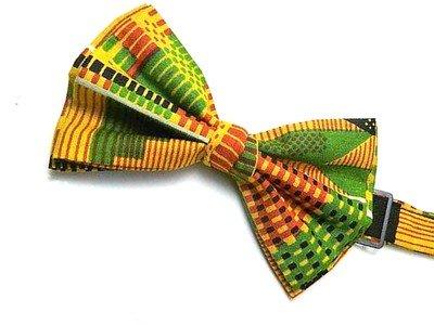 Kente Print Bow Tie