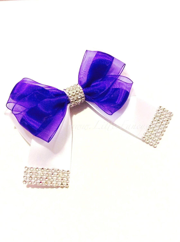 """Royal Butterfly"" Hair Bow"