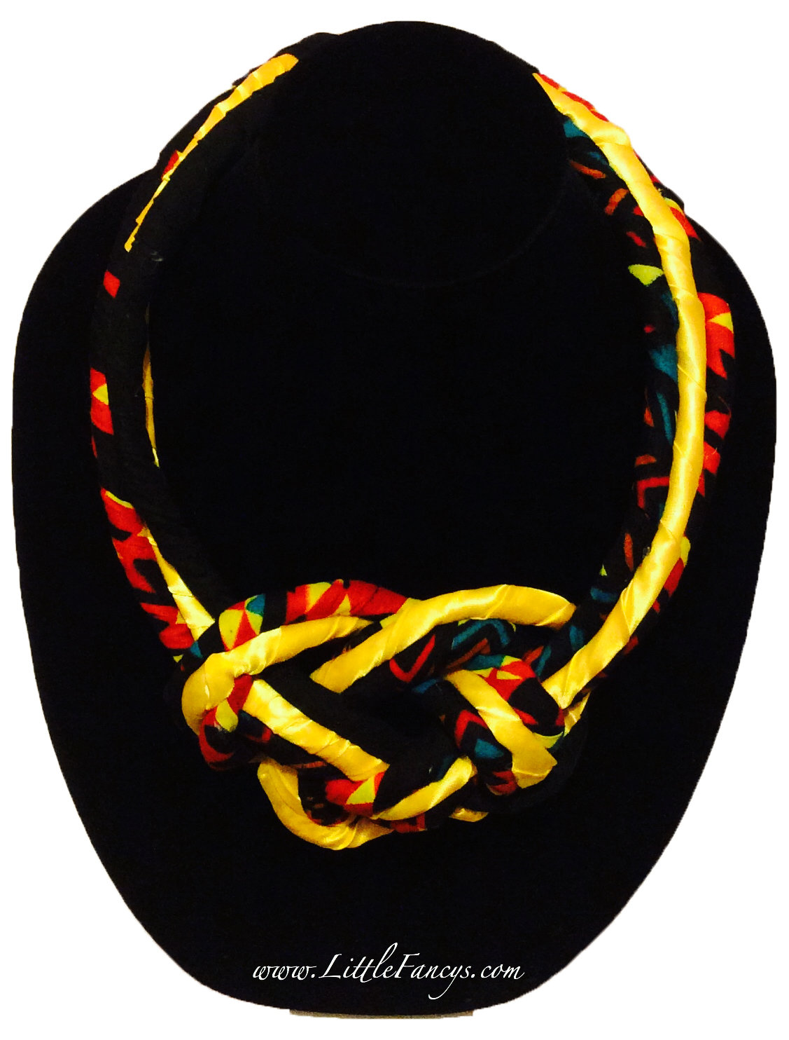 Knotted Statement Neck Piece