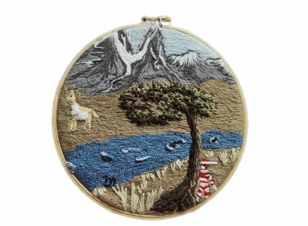 Torres del Paine Embroidery / Bordado Torres del Paine