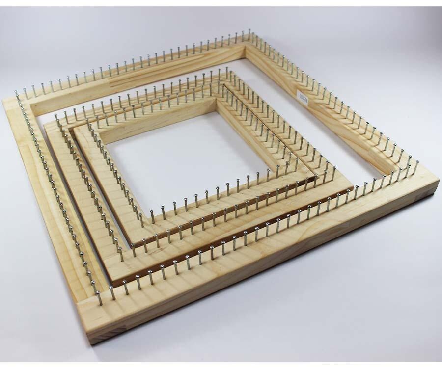 Loom workshop / Taller Online de Telar Cuadrado