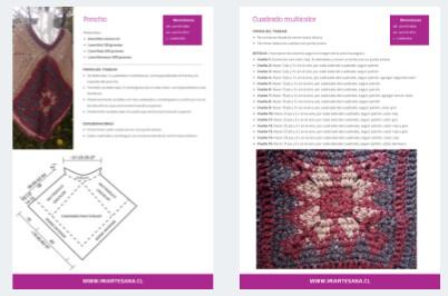 DIY Crochet Pattern Poncho / Patrón de Ganchillo Poncho