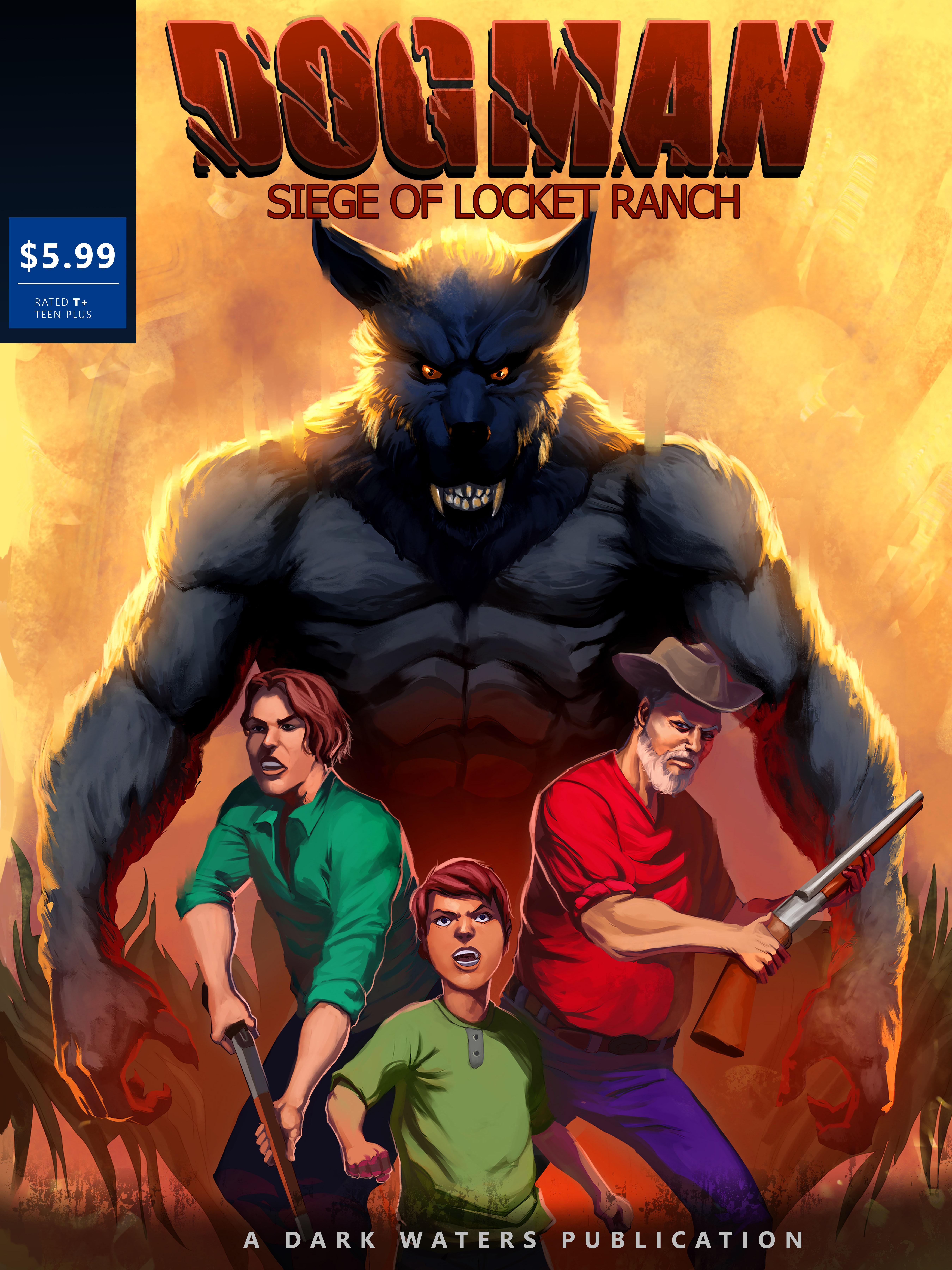 Standard Edition Siege Of Locket Ranch Comic book 00003